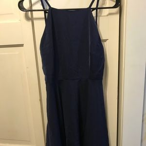 Zalora Navy Blue Dress